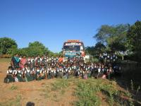 Our School students went to kadambavanam for Educational visit