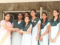 Dance team of our school bagged up the second place in the western dance event