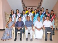 Investiture ceremony of Cauvery Matric Students