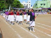 Parade of our band students