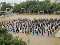 International Yoga Day by our students